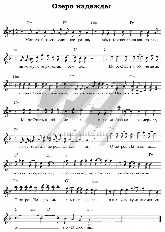 В городе моём аккорды пугачева