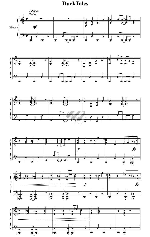 Как играть на пианино собачий вальс схема